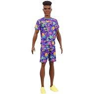 Barbie Model Ken – S afro - Bábiky