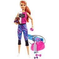 Barbie Wellness Bábika s karimatkou - Bábiky