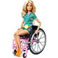 Barbie Modelka Na invalidnom vozíku – blondínka - Bábiky