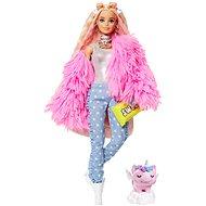 Barbie Extra – V ružovej bunde - Bábiky