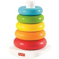 Fisher-Price Eco krúžky na tyči - Hračka pre najmenších