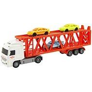 Kamión prepravník + 3 autá