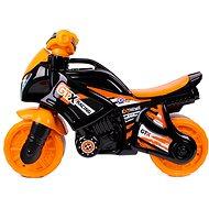 Odrážadlo motorka oranžovo-čierna - Odrážadlo