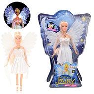 Bábika víla biele šaty - Bábika