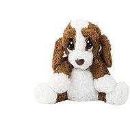 Psík/psíček sediaci nahrievací - Plyšová hračka