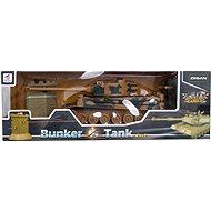 Tank RC + bunker - RC tank na ovládanie