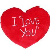 Srdce I Love You – 37 cm - Plyšová hračka