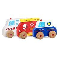 Jamara Drevená hračka – Kidiwood autá
