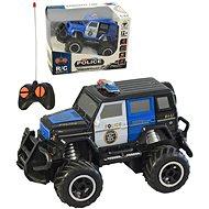 Police car, remote controlled, 18x16cm