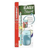 STABILO EASYgraph, školská sada modrá L, so strúhadlom a gumou