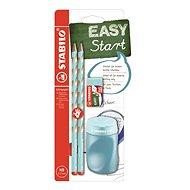Stabilo EASYgraph S školský set modrý R so strúhadlom a s gumou - Grafitová ceruzka