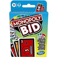 Kartová hra Monopoly Bid CZ SK - Kartová hra
