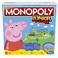Monopoly Junior Prasiatko Peppa CZ SK - Dosková hra