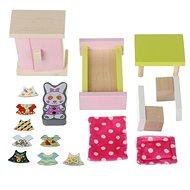 Cubika 12640 Izba – drevený nábytok pre bábiky - Drevená hračka