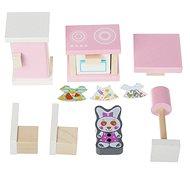 Cubika 13975 Kuchynka – drevený nábytok pre bábiky - Drevená hračka