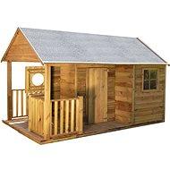 Domček detský drevený Farma - Detský domček