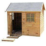 Domček detský drevený Chata - Detský domček