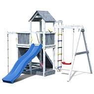 Ihrisko detské Marimex Play 009 sivobiele - Detské ihrisko