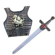 Rappa rytiersky meč so zvukom a štítom - Doplnok ku kostýmu