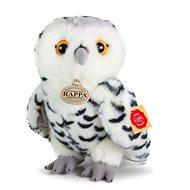 Rappa plyšová sova biela 25 cm Eco-friendly