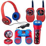 Interaktívna hračka Sada Spiderman – vysielačky, slúchadlá, baterka, kompas