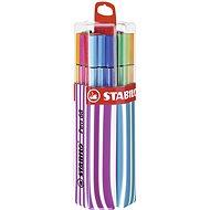 STABILO Pen 68, 20 ks, Twin Pack, ružové/modré, závesné - Fixky