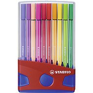 STABILO Pen 68, 20 ks, ColorParade modré/červené