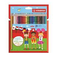 STABILO color 24 ks kartónové puzdro - Pastelky