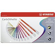 STABILO CarbOthello 12 ks kovové puzdro - Pastelky