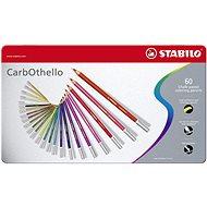 STABILO CarbOthello 60 ks kovové puzdro - Pastelky