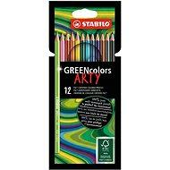 """STABILO GREENcolors 12 ks puzdro """"ARTY"""" - Pastelky"""