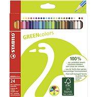 STABILO GREENcolors 24 ks puzdro - Pastelky