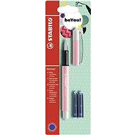 STABILO beCrazy! plniace pero Pastel, ružové/biele + 2 náplne