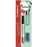 STABILO beFab! plniace pero Uni Colors, mentolovo-zelené + 2 náplne - Plniace pero