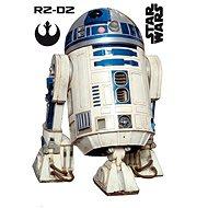 ABYstyle – Star Wars – Samolepiaca dekorácia na stenu – mierka 1:1 – R2D2 – (rozmer: 95 × 66 cm)