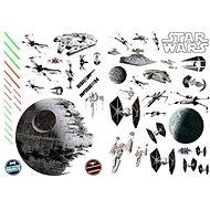 ABYstyle – Star Wars – Samolepiaca dekorácia na stenu – (rozmer: 100 × 70 cm) – Battleships