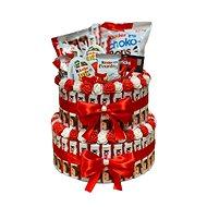Kinder dvojposchodová torta 30 cm - Darčekový box