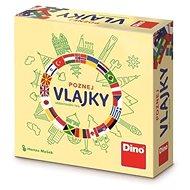 Dino poznaj vlajky – cestovná hra - Stolová hra