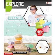 Teddies Výroba mydla, vedecká hra s formičkami