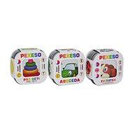 Pexeso 3 ks Abeceda, Zvieratká, Pre deti, spoločenská hra - Spoločenská hra