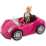Teddies Bábika kĺbová 30 cm s autom na voľný chod - Bábika