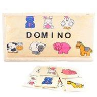 Drevené domino zvieratká
