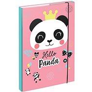 BAAGL Dosky na školské zošity A4 Panda - Školské dosky