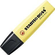 STABILO BOSS ORIGINAL pastelový žltý
