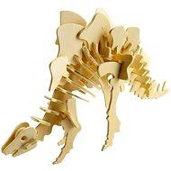 Drevené 3D puzzle – Stegosaurus - 3D puzzle