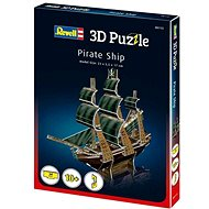 3D Puzzle Revell 00115 – Pirate Ship - 3D puzzle