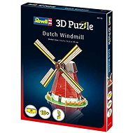 3D Puzzle Revell 00110 – Dutch Windmill - 3D puzzle