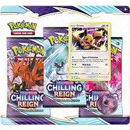 Pokémon TCG: SWSH06 Chilling Reign – 3 Blister Booster