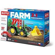 Roto 2v1 Traktor, 37 dielikov - Stavebnica