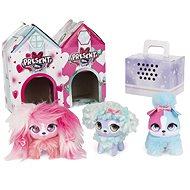 Present Pets Maznavé mini plyšové hračky trojbalenie